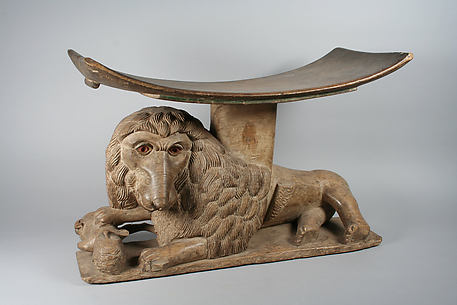 Prestige Stool: Lion Base