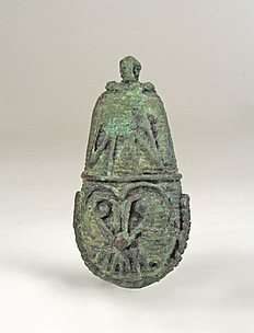Bell with Face (Tlaloc)
