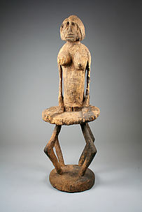 Figure: Female Seated on Stool