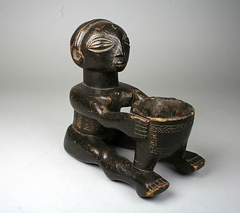 Divination Vessel: Seated Female Figure (Mboko)