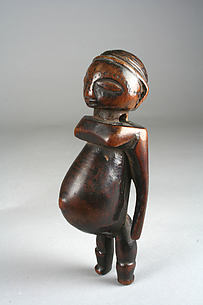 Pendant: Pregnant Female Figure