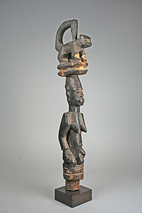 Headdress: Female Figure