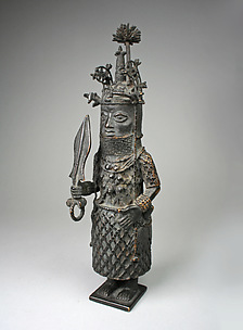 Figure: Oba with Ceremonial Sword