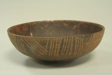 Orangeware Bowl with Lines