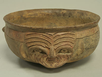 Bowl with Face