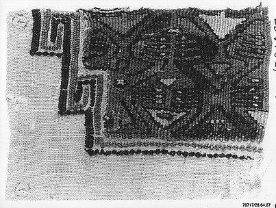 Tapestry Fragment with Figures