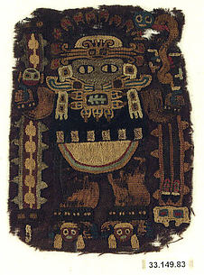 Embroidered Fragment with Figure