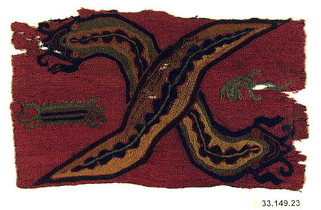 Embroidered Border Fragment