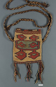 Tapestry Bag with Fringes