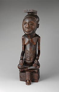 Figure: Seated Male (Ndop)