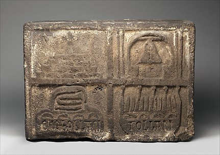 Relief with Place Name Glyphs