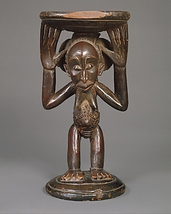 Prestige Stool: Female Caryatid