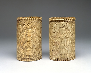 Bracelet: Equestrian and Standing Figures