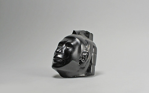 Head from a figure, Macuilxochitl