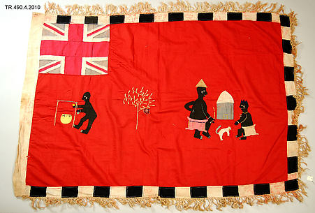 Appliquéd Battalion Flag (Asafo)