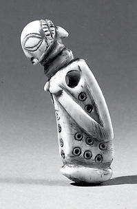 Pendant: Female Half Figure
