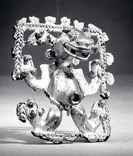 Anthropomorphic Animal Pendant