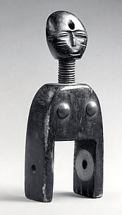Heddle Pulley: Female Figure
