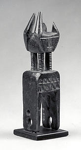 Heddle Pulley with Janus Figure