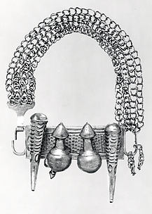 Arm Band: Calabash and Horn Motif
