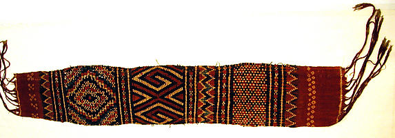 Head Wrapper or Loincloth (Pewo or Mbesa Tali To Batu)