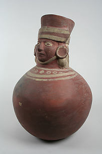Vessel with Head Neck