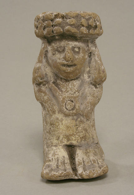Standing Female with Headdress