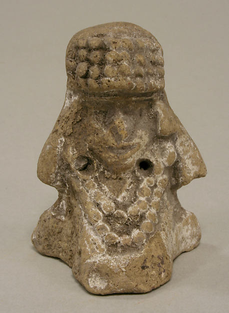 Seated Female with Headdress