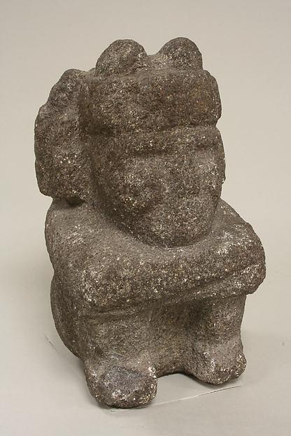 Seated Male Deity