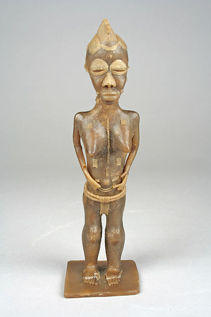 Wax Model of Female Figure