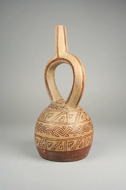 Bottle, Geometric Designs