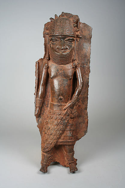 Plaque Fragment: Warrior Chief