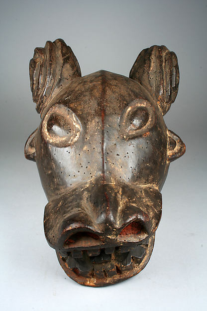 Helmet Mask: Buffalo (?)