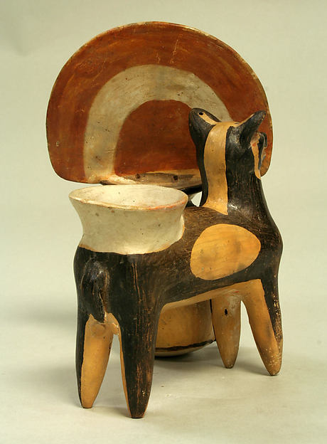 Man and Llama Vessel