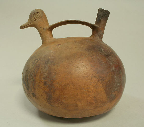 Bridge and Spout Vessel with Duck Head