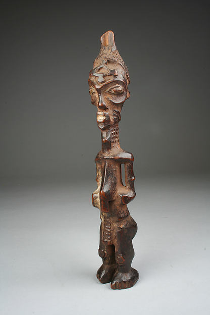 Figure: Male Holding Vessel