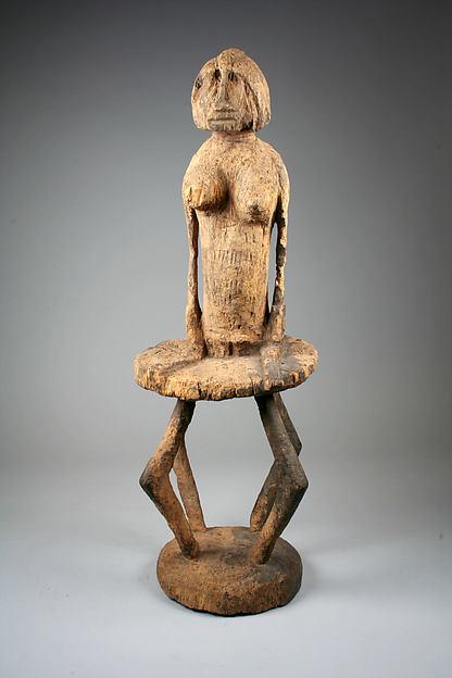 Figure: Female Seated on Stool