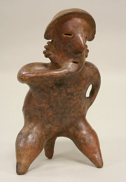 Figure on Stool