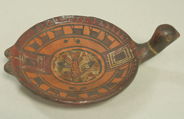 Dish with Bird Head