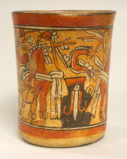 Vessel with Deity Figures
