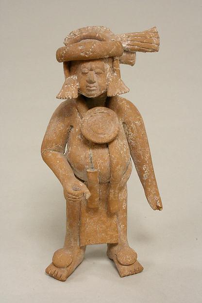Figure with Helmet Mask