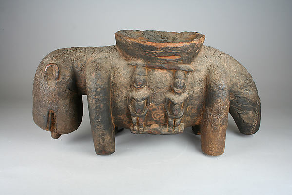 Vessel: Dog with Figures
