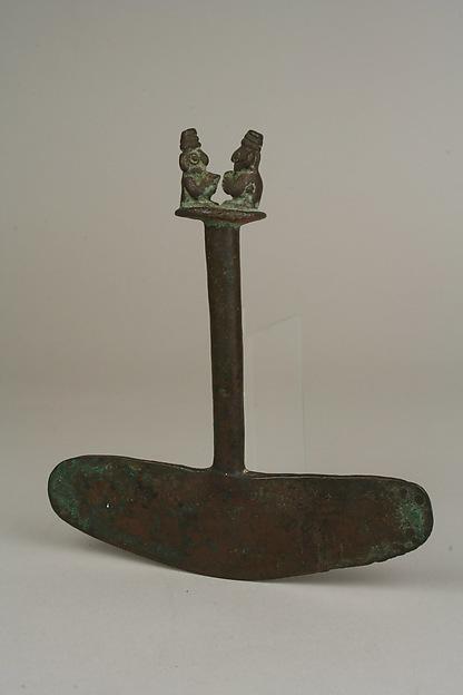 Bronze Tumi with Figures