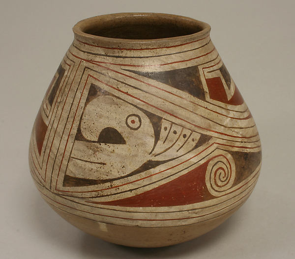 Ceramic Painted Vessel