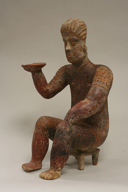 Female Figure Seated on Stool