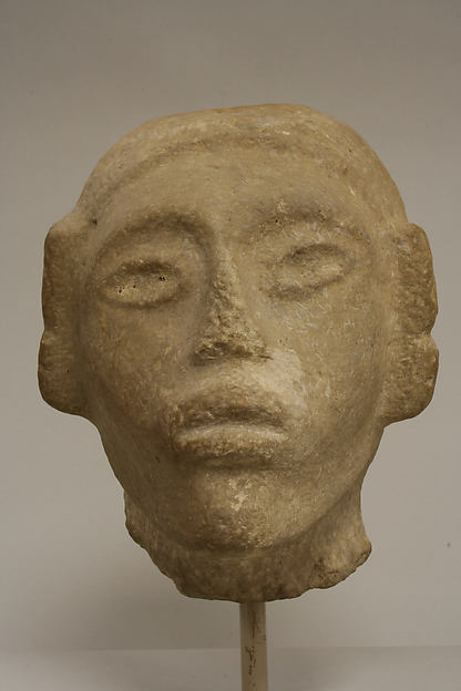 Sandstone Head