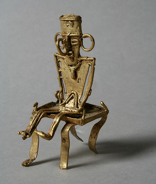 Male Figure on Stool (tunjo)