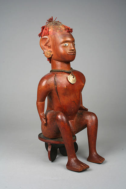 Figure: Male Seated on Stool