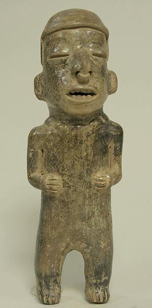 Standing Ceramic Male Figure