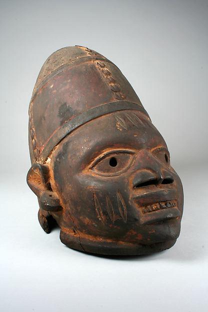 Helmet Mask (Gelede)